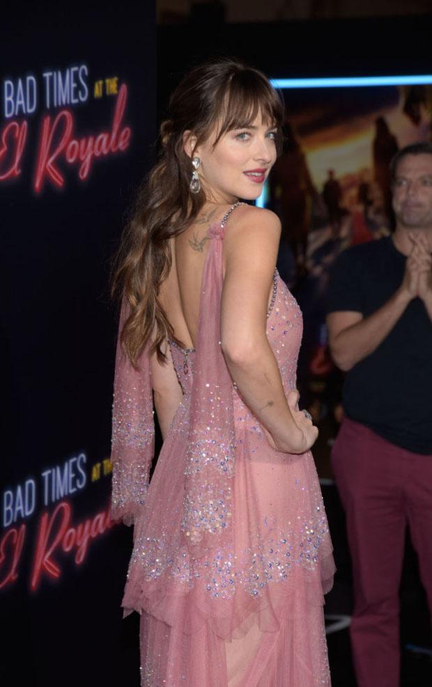 Dakota Johnson In Gucci - 'Bad Times At The El Royale' LA Premiere