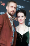 Claire Foy In Rosetta Getty & Stella McCartney - 'First Man' San Sebastian Film Festival Photocall & Premiere