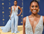 Issa Rae In Vera Wang - 2018 Emmy Awards