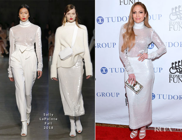 Jennifer Lopez In Sally LaPointe - 33rd Annual Great Sports Legend Dinner To Benefit The Buoniconti Fund To Cure Paralysis