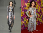 Jing Lusi In Temperley London - 'Crazy Rich Asians' London Screening