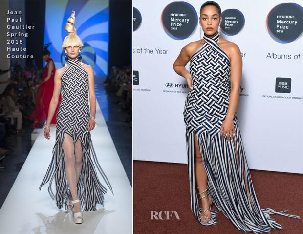Jorja Smith In Jean Paul Gaultier Haute Couture - Mercury Prize 2018