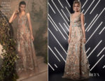 Josephine Skriver In Alberta Ferretti Limited Edition - Best FIFA Football Awards 2018