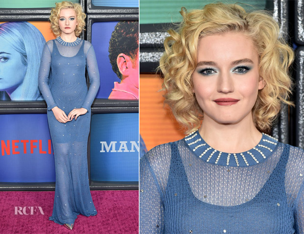 Julia Garner In Sonia Rykiel - Netflix Original Series 'Maniac' New York Premiere
