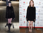 Julianne Moore In Saint Laurent - 'Bel Canto' New York Premiere