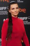 Juliette Binoche In Chloe & Alberta Feretti Limited Edition - 'High Life' San Sebastian Film Festival Photocall & Premiere