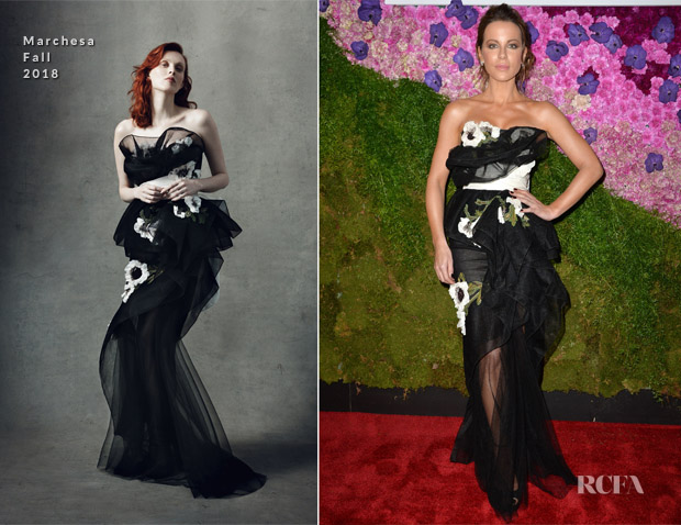 Kate Beckinsale In Marchesa - Tea Party After Dark Event