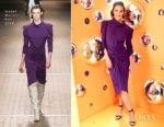 Katie Holmes In Isabel Marant - A. Human Launch Event Hosted By Simon Huck