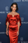 Katie Holmes In Zac Posen - Harry Winston Unveils 'New York Collection'