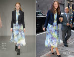 Keira Knightley In Bora Aksu - Good Morning America