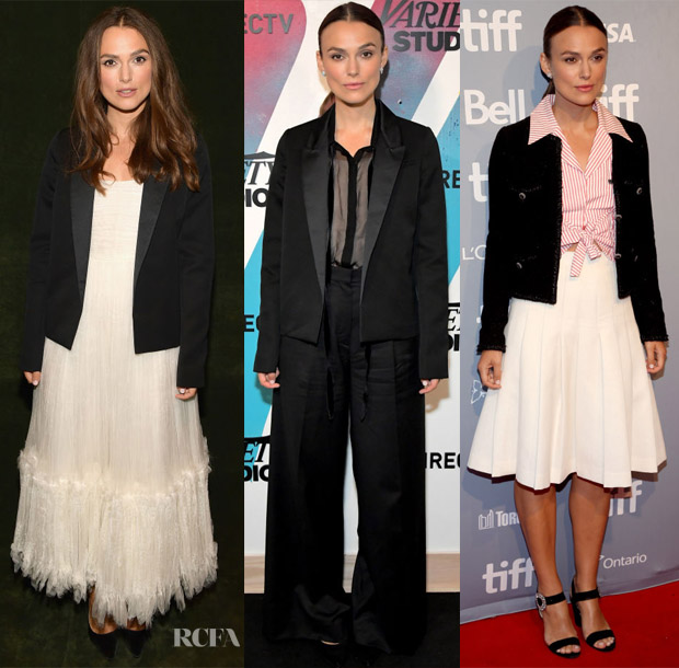 Keira Knightley In Chanel - Toronto International Film Festival