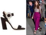 Keira Knightley's Jimmy Choo Mischa Sandals