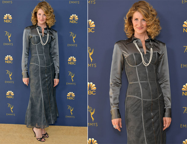 Laura Dern In Thom Browne - 2018 Emmy Awards