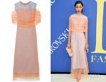 Lineisy Montero's Sies Marjan Lisette Layered Dress