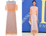 Lineisy Montero's Sies Marjan Lisette Layered Dress