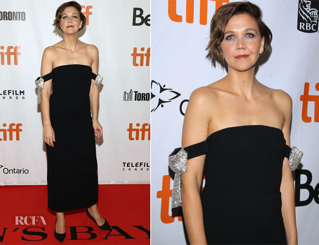 Maggie Gyllenhaal In Oscar de la Renta - 'The Kindergarten Teacher' Toronto International Film Festival