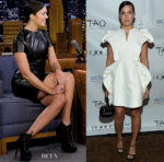 Mandy Moore In Paule Ka & Dice Kayek - Dujour Magazine Party & The Tonight Show Starring Jimmy Fallon