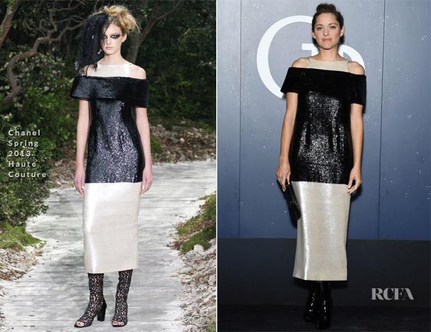 Marion Cotillard In Chanel Haute Couture - Opening Season Paris Opera Ballet