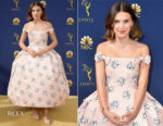 Millie Bobby Brown In Calvin Klein by Appointment - 2018 Emmy Awards