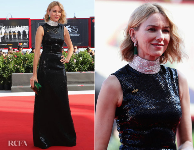 Naomi Watts In Michael Kors Collection - 'The Nightingale' Venice Film Festival Premiere
