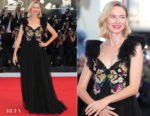 Naomi Watts In Valentino - Venice Film Festival Closing Ceremony