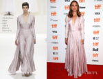 Natalie Portman In Christian Dior Couture - 'Vox Lux' Toronto International Film Festival Premiere