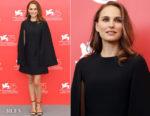 Natalie Portman In Christian Dior - 'Vox Lux' Venice Film Festival Photocall
