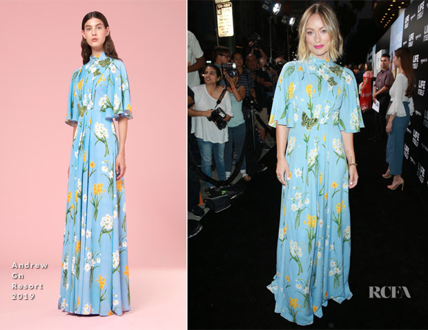 Olivia Wilde In Andrew Gn - 'Life Itself' LA Premiere