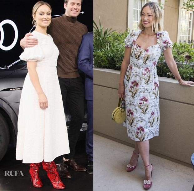 Olivia Wilde In Kate Spade New York & Tracy Feith - 'Life Itself' Promotion