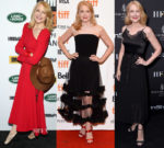 Patricia Clarkson In Christian Siriano & Sandro - Toronto International Film Festival