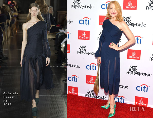 Patricia Clarkson In Gabriela Hearst - The New York Philharmonic's Opening Gala: New York, Meet Jaap.