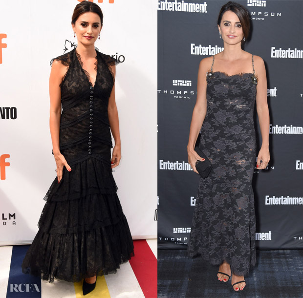 Penelope Cruz In Chanel Haute Couture & Chanel RTW - 2018 Toronto International Film Festival