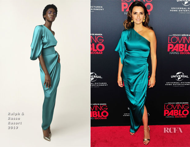 Penelope Cruz In Ralph & Russo - 'Loving Pablo' Special Screening