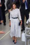 Queen Letizia of Spain In Massimo Dutti - 'Vega-3'