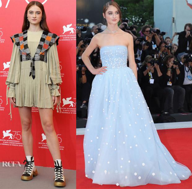 Raffey Cassidy Red Carpet Fashion Awards