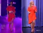 Reese Witherspoon In Brandon Maxwell - The Tonight Show Starring Jimmy Fallon