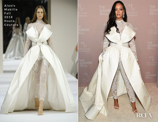 Rihanna In Alexis Mabille Haute Couture - 4th Annual Diamond Ball