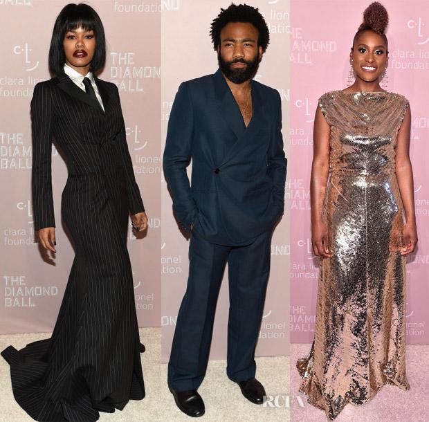8eb987eed40 Rihanna's 4th Annual Diamond Ball - Red Carpet Fashion Awards