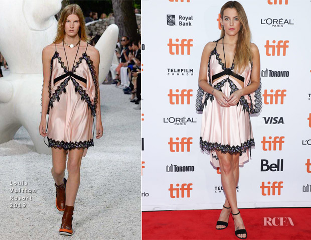 Riley Keough In Louis Vuitton - 'Hold The Dark' Toronto International Film Festival Premiere