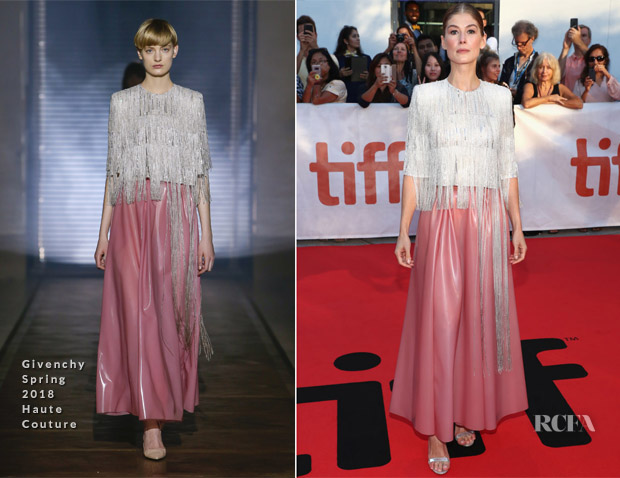 Rosamund Pike In Givenchy Haute Couture - 'A Private War' Toronto International Film Festival Premiere