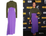 Ruth Negga's Rachel Comey Converge Check-Printed Dress