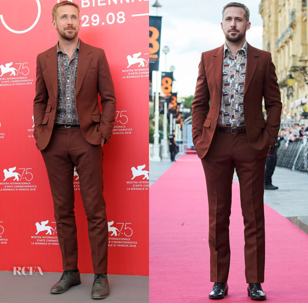 Ryan Gosling Loves His Gucci Suit