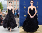 Sarah Paulson In Oscar de la Renta - 2018 Emmy Awards