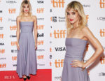Sofia Boutella In Christian Dior - 'Climax' Toronto International Film Festival Premiere