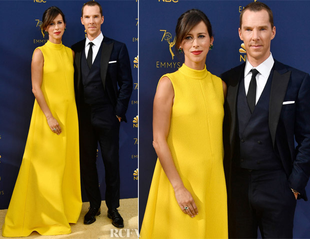 Sophie Hunter In Erdem - 2018 Emmy Awards