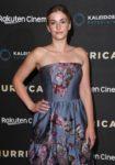 Stefanie Martini In Malene Oddershede Bach - 'Hurricane' London Premiere
