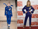 Suki Waterhouse In Dilara Findikoglu - 'Assassination Nation' New York Screening