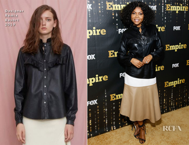 Taraji P. Henson In Designers Remix - 'Empire' Season 5 Premiere