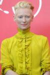 Tilda Swinton In Haider Ackermann - 'Suspiria' Venice Film Festival Photocall