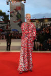 Tilda Swinton In Schiaparelli Haute Couture - 'At Eternity's Gate' Venice Film Festival Premiere